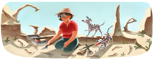 Google Doodle of the Day, February 6, 2013